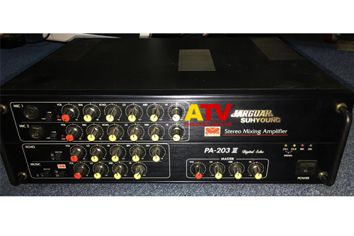 Stereo Mixing Amplifier PA-203 III