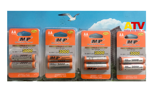 Pin sạc MP 3000 mAh